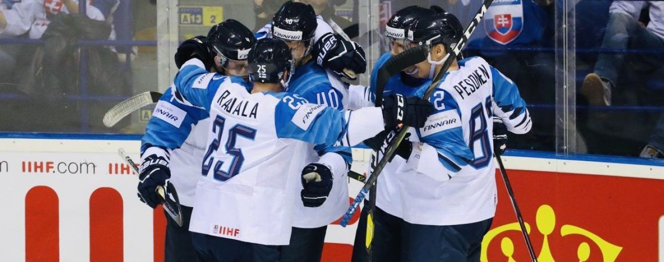 Финляндия разобралась с Канадой и в третий раз в истории стала чемпионом мира по хоккею