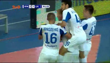 Динамо - Львов - 2:1. Видеообзор матча