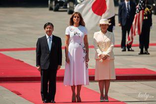 Обидві дуже гарні: Меланія Трамп зустрілася з японською імператрицею Масако