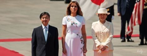 Обе очень красивые: Мелания Трамп встретилась с японской императрицей Масако