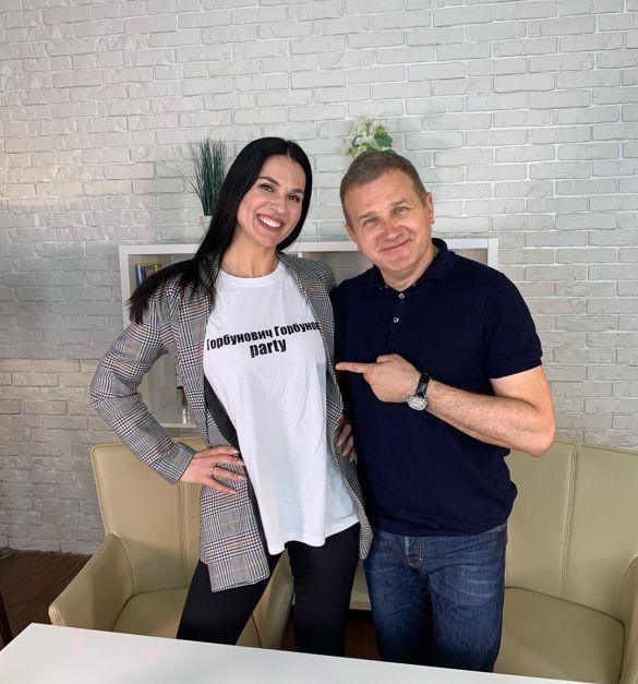 Маша Ефросинина и Юрий Горбунов