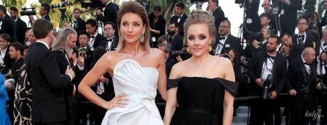Наши в Каннах: Алена Шоптенко в вечернем платье и с насыщенным макияжем блистала на красной дорожке