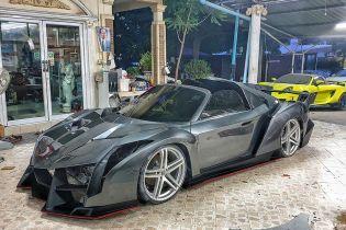 Тайцы превратили спорткар Toyota в Lamborghini