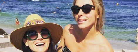 Однажды в Одессе: как Осадчая и Евросинина на пляж ходили