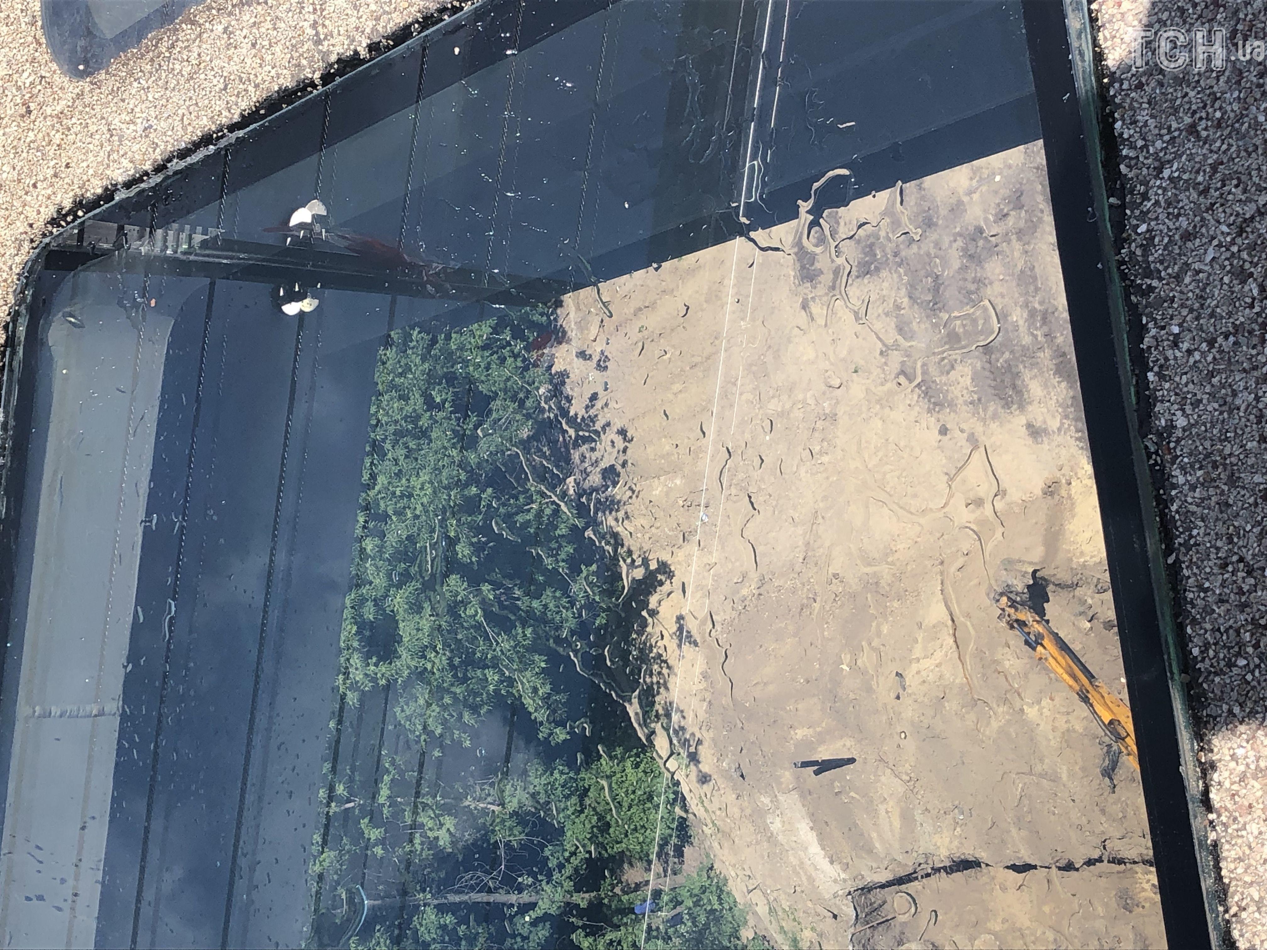 заміна скла на мосту у Києві 2