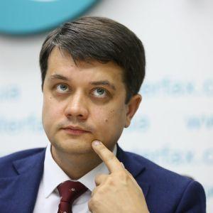 Разумков назвал новую дату внеочередного заседания Рады