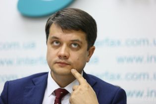"""""""Я її не підтримую"""": Разумков пояснив своє """"специфічне"""" ставлення до люстрації"""