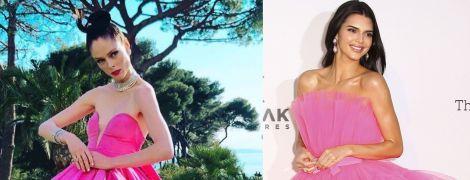 В платьях цвета фуксии: битва образов Коко Роши и Кендалл Дженнер