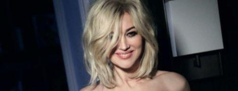 В платиновом парике: неожиданная фотосессия Моники Беллуччи для глянца