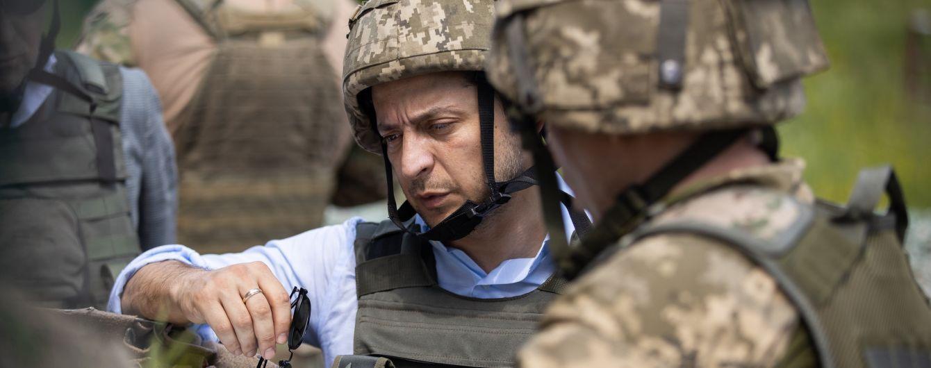 ЗСУ відповідатимуть жорстко: Зеленський відреагував на обстріл з артилерії українських позицій на Донбасі
