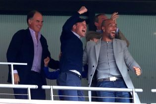 """Принц Вільям емоційно відсвяткував на стадіоні вихід """"Астон Вілли"""" в Прем'єр-лігу"""