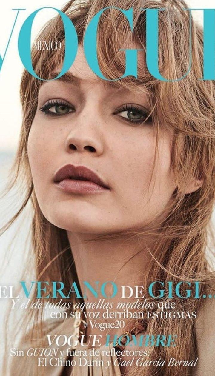Джиджи Хадид в фотосете для Vogue Mexico