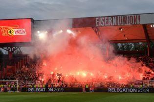 Немецкие фанаты ярко отпраздновали исторический выход команды в Бундеслигу