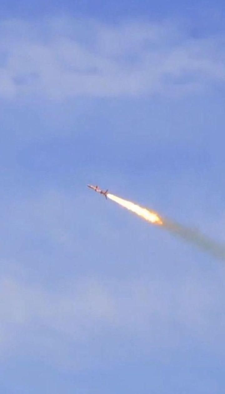 """Удосконалену крилату ракету """"Нептун"""" успішно випробували на Одещині"""