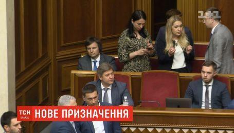 Зеленский назначил нового секретаря Совета национальной безопасности и обороны