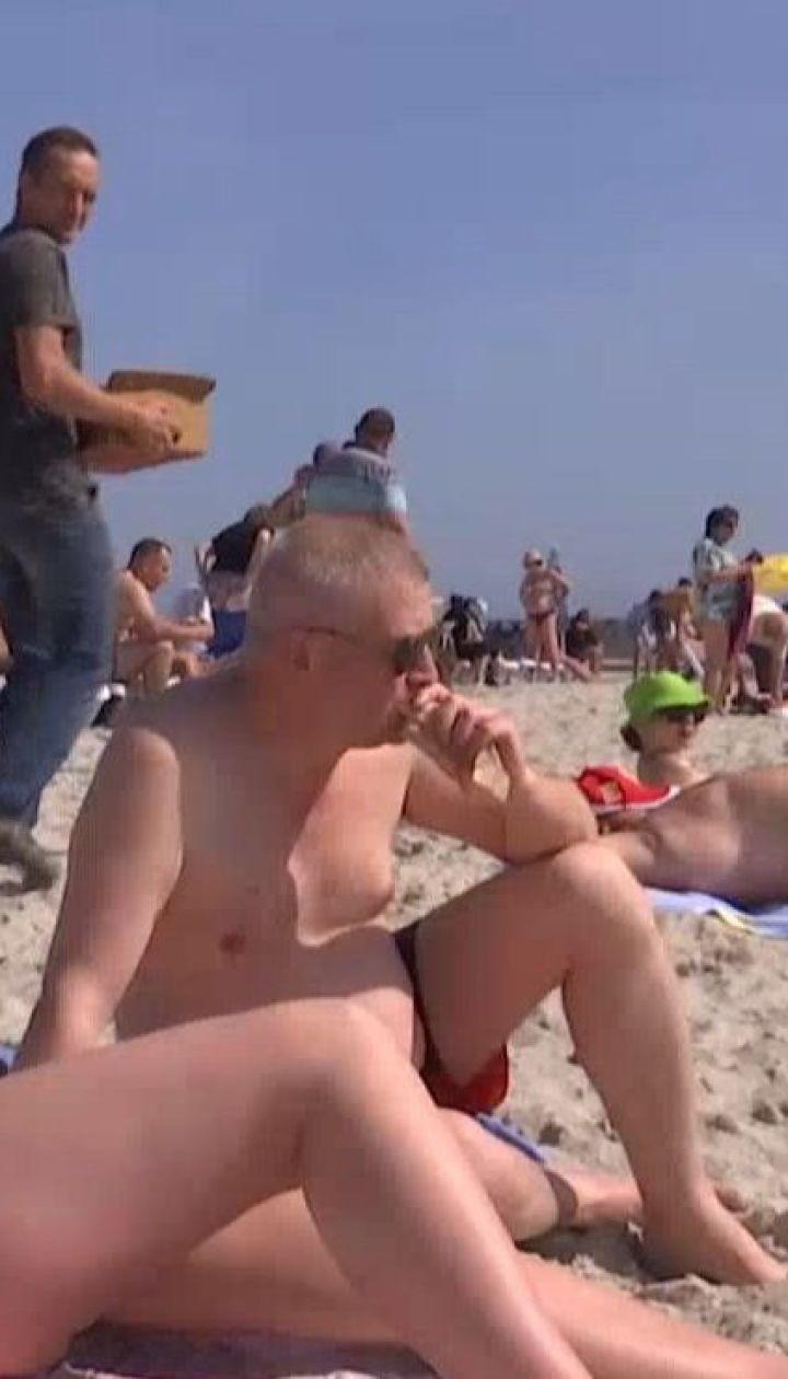Одесити відкрили купальний сезон