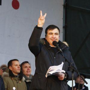 Саакашвили предложил перенести из Киева административный центр Украины