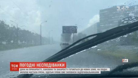От штормов в ближайшее время снова будет страдать Западная Украина