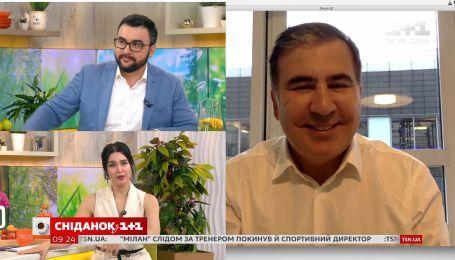 Саакашвили поделился планами на пребывание в Украине и политическими амбициями