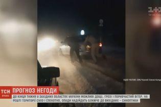 Рекордный град, наводнения и жара: Украина страдает от капризов природы