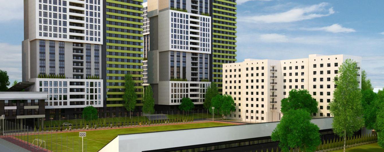 Олимпик парк - ЖК с амбициозным темпом строительства