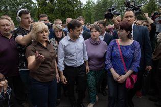 Після зустрічі з родичами загиблих гірників та шахтарями Зеленський скликає РНБО