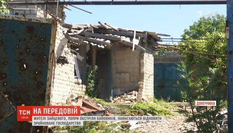 Боевики стреляют по окрестностям оккупированной Горловки