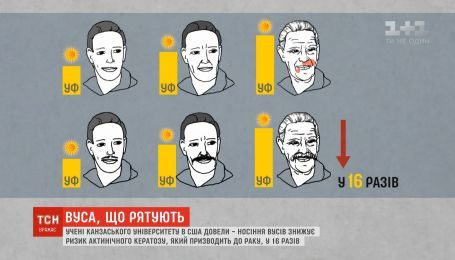 Усы спасают от рака - американские исследователи