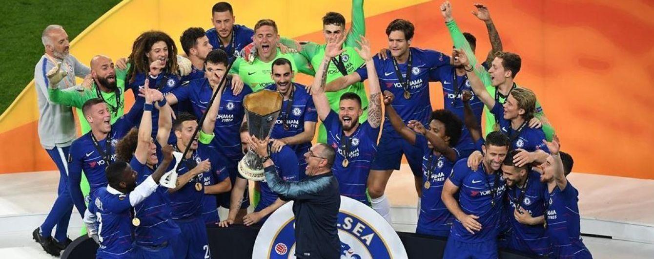 """Тренер """"Челсі"""" Саррі виграв перший трофей за 29 років тренерства"""