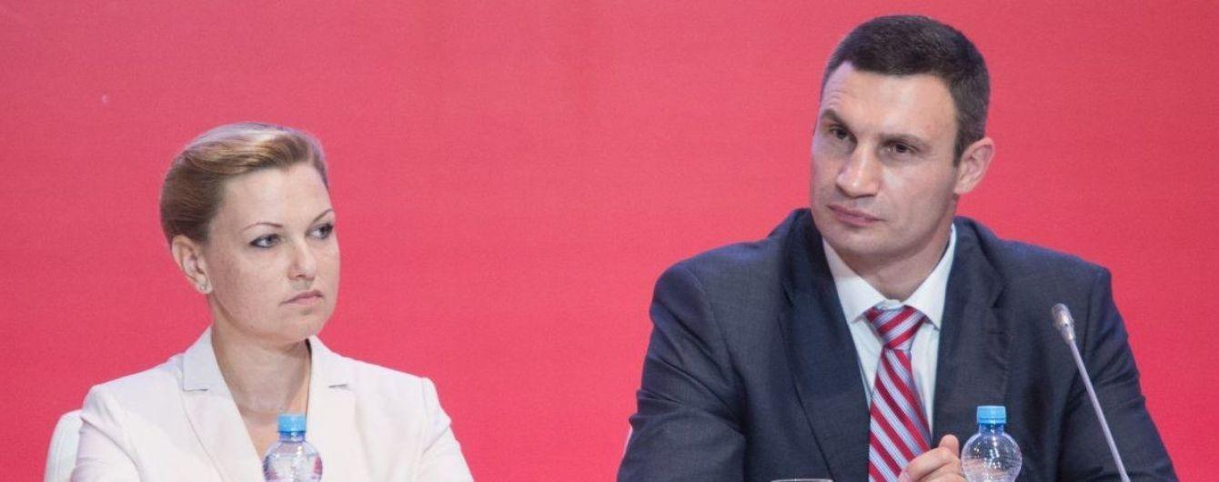 "Председатель партии ""УДАР Виталия Кличко"" уходит с поста"