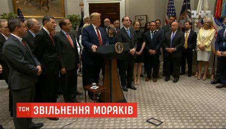 Трамп поговорит с Путиным об освобождении украинских моряков