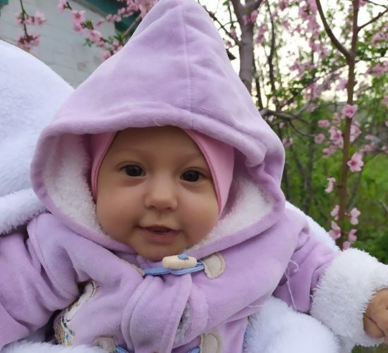 5-місячна Марійка потребує негайної допомоги