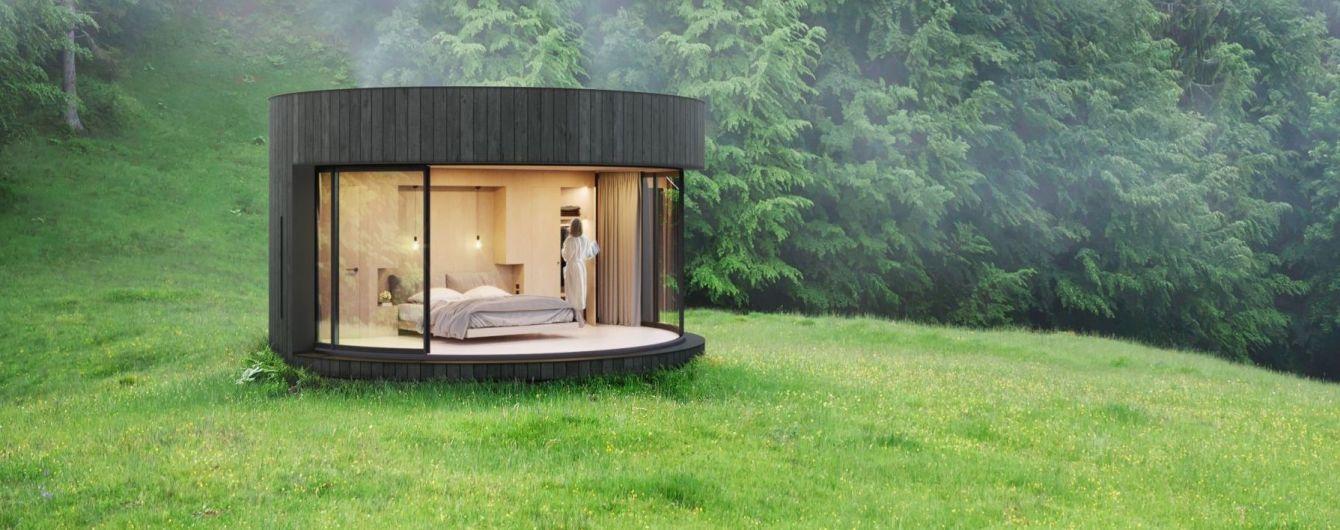 Французи розробили готельні номери для любителів природи