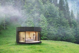 Французы разработали гостиничные номера для любителей природы