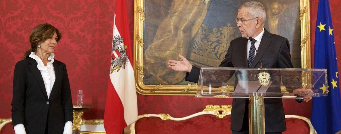 """""""Российский"""" скандал в Австрии. Президент страны назначил временного канцлера"""