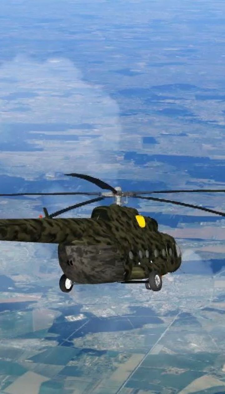 На Ровенщине разбился военный вертолет, все члены экипажа погибли