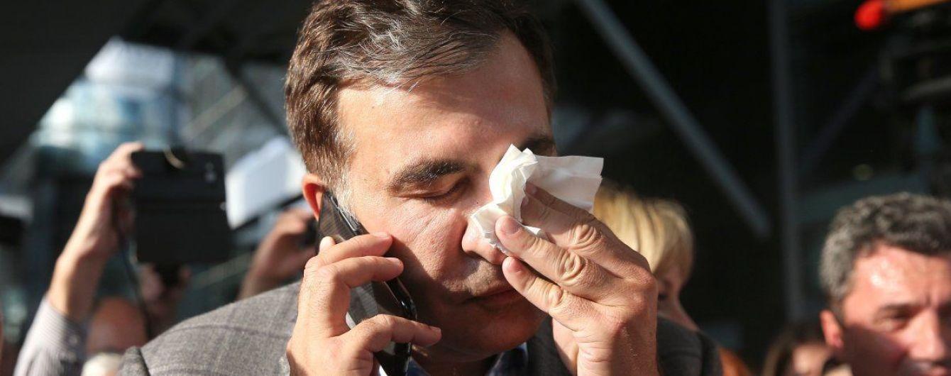 ЦВК не зареєструвала списки кандидатів партії Саакашвілі через порушення