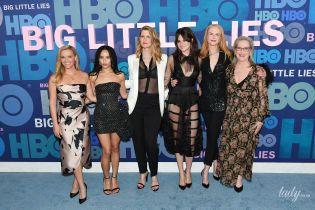 Візерспун у дорогій сукні, а Лора Дерн світить білизною: зірковий склад на прем'єрі серіалу в Нью-Йорку
