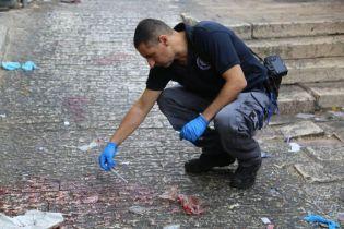 В Иерусалиме террорист с ножом напал на прохожих