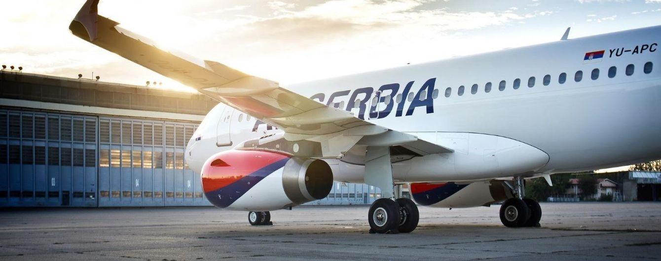 Air Serbia відновлює рейси з Белграда до Києва