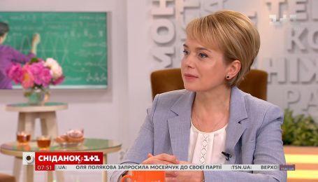 Лілія Гриневич про подяку вчителям і новації у новому освітньому законопроекті