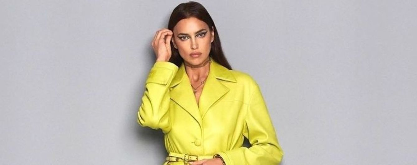 Жовтий їй пасує: Ірина Шейк позувала в дуже ефектному образі