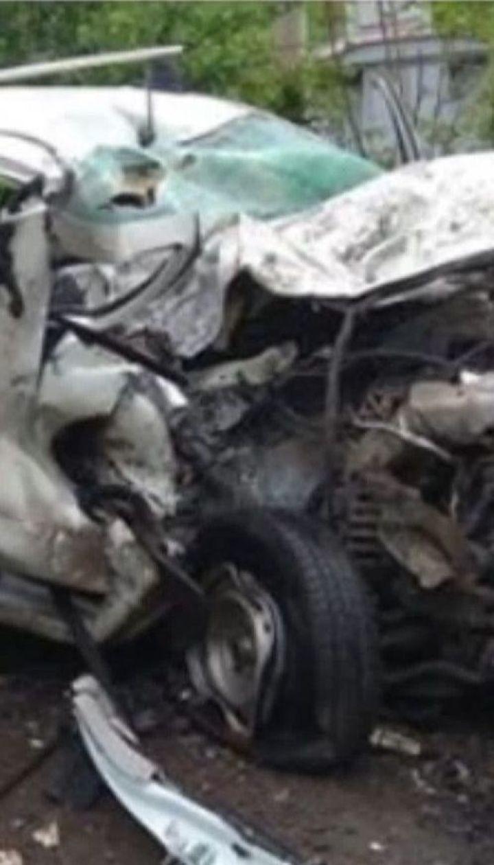 """В ДТП попали сотрудники """"Укрэнерго"""", которые возвращались с ремонта линии электропередач"""