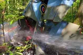 Самолет времен Второй мировой разбился в Польше, пилот погиб