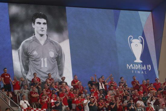 """Футболісти """"Тоттенхема"""" і """"Ліверпуля"""" вшанували пам'ять Хосе Антоніо Реєса, який загинув у день фіналу Ліги чемпіонів"""