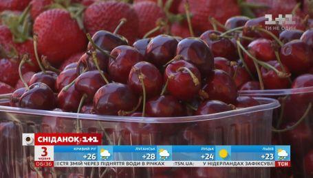 Коли вирівняються ціни на черешню та як вибрати найсмачнішу ягоду