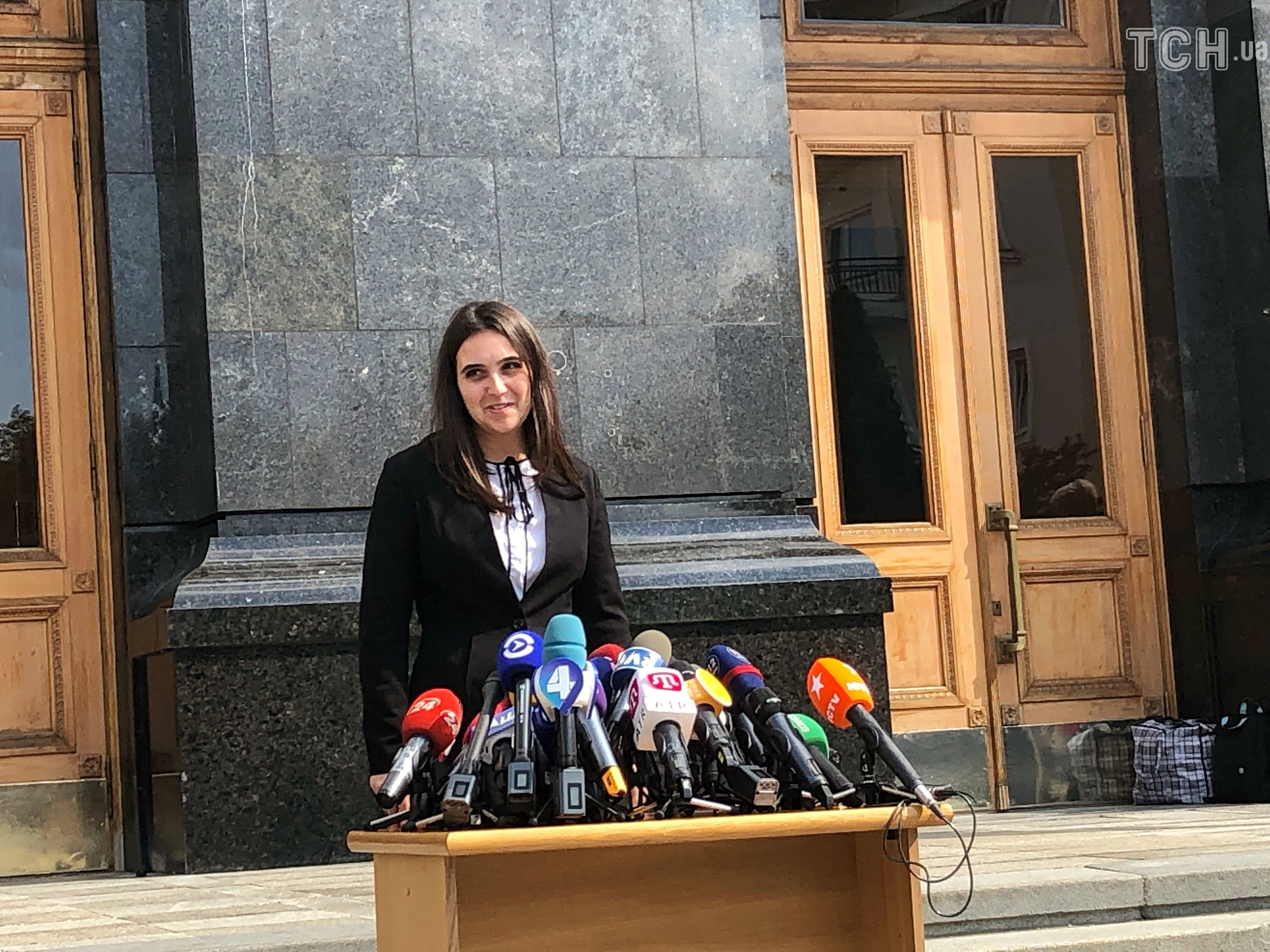 прес-секретар президента Юлія Мендель_1