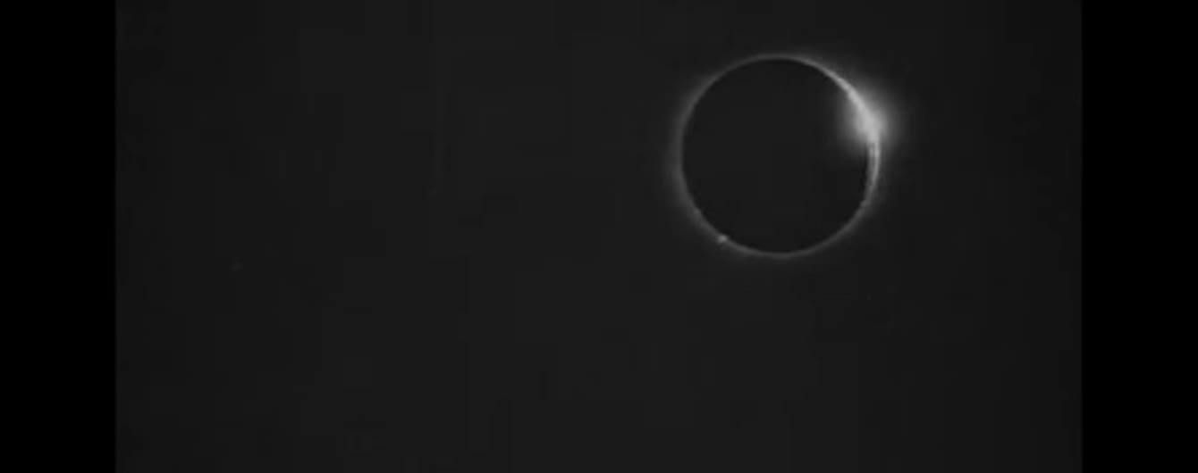 Дослідники оприлюднили перший у світі відеозапис сонячного затемнення