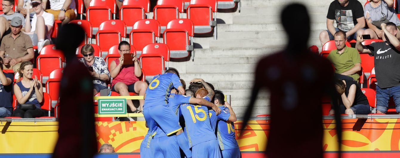Збірна України пробилася до чвертьфіналу Чемпіонату світу