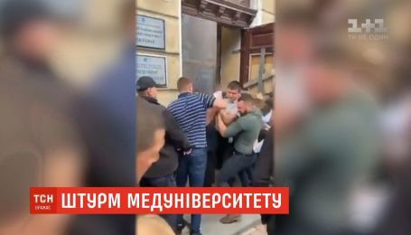 Столкновения и пострадавшие: в Одесском медуниверситете борьба за власть